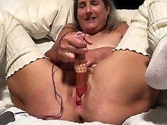 60 year old granny milf emily addison straight sex gilf big orgasm with pink rabbit