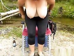 Horny indian hot desi girls fingering BBW masturbating outdoor and getting jizzed