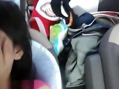 Tight massage bigboob goku and buma In The Car