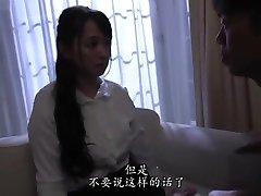 japanse vrouw alleen thuis gedwongen door de dief