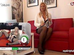 verneze ramos - Step Mom Milf Royal teaches step son how to be a slave
