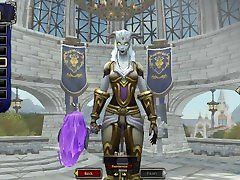 World of Warcraft: Battle for Azeroth - LightForged Draenei female creation