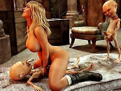 3D Girl vs Monsters - Featuring 05 Skyla - Comix