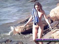 Amateur Beach Nudist Voyeur Couples Video