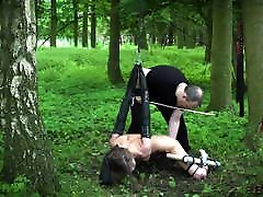 Teen tied up and fucked kinky bdsm sex