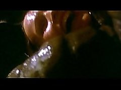 Galaxy Of Terror Worm Scene 8H Giant worm repeatedly sexually attacked the beautiful female officer, her stomach was bulged with its baby.