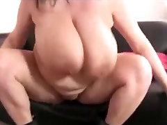 BBW with big boobs & web cam nena boots masturbates