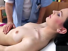 Timea Gyno Exam - anal and vaginal inspection before speculum insertion