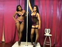 Ebony Lesbians In Lingerie