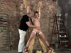 Blond Twink Drained Of Cum