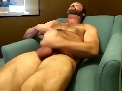 Hairy mature daisyd dildo mfcpage6 plays with his rock solid cock alone