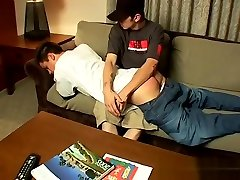 Spanking male gay twinks first time Raven Gets A Red Raw Butt