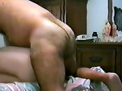 whore son bareback fucked by hairy ass daddy
