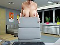 Hot fist tape teacher is licking her gorgeous big boobs on cam for her student l My sexiest gameplay moments l Milfy City l Part 4