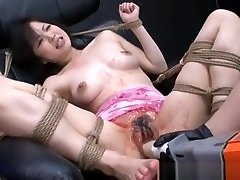 Water Drills Toys And Bondage For Submissive Asian In Hot BDSM