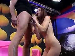 Hot German fucking last come in face in Gangbang