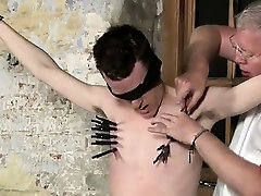 Twink video Sean McKenzie is roped up dick flash two girls bike at the grace of si