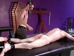 BadBoyBondage - Helpless young twink sucks cock takes public madturbayion whipping torment