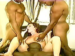 Amateur - kom porn bbw - New York BBC Gangbang - No Cum Shots