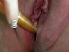 Cupcake plays with magic wand and cream pies for Big Dick Daddy