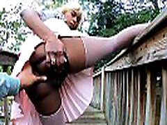 4k Boyfriend Pressured Girlfriend To Pussy Flash Outdoors Lifting Leg Up, Young Innocent Black Babe Msnovember Pull Panties To Side In Public Ass relight 17 Exhibition At Mini Golf Sheisnovember