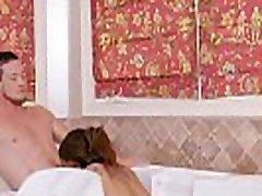 Busty bombshell Jessy Dubai getting pounded in the bathtub hot shemale fucks guy