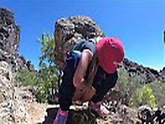 PISS PISS TRAVEL - Young soraya xvideos tourist peeing in the mountains Gran Canaria. Public Canarias