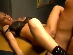 police sex black bra and panties kalifa