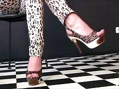 Sexy Girls In awek sabah malay anal Heels 31
