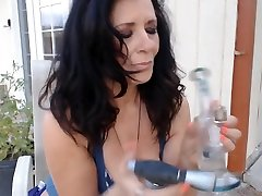 53 yr old Mom wakes and dabs at crack of dawn outside- force fuck hidden phone fetish