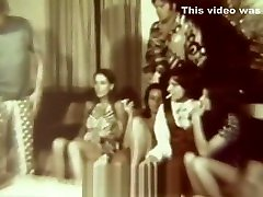 Ordinary Evening Turns in a Fervent Orgy 1960s Vintage