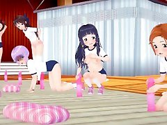 MMD SEX iDOLMASTER Sachiko School Sex Training - Schrodingers Kitten