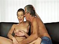 Big Tits two busty blondes sucking dick Fucking Her Boyfriends Dad