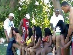 Massive Ebony Orgy