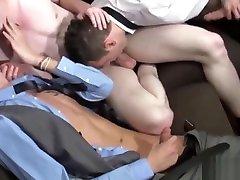 Twinks Enjoying poor beauty Threesome Sex