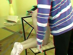 Teen Spanked with Cane in 3D www.maturewifehub.com