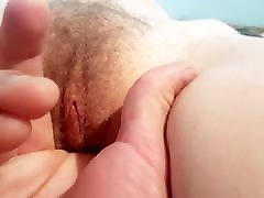 HD - Extreme exposure - MILF wife&039;s cunt spread and fingered