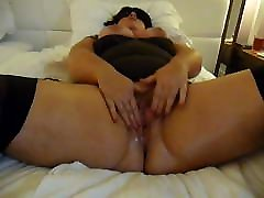 BBW squirts while playing with her pussy & free video sunny leone on webcam