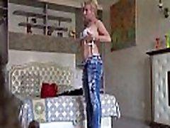 Blonde MILF Terry - small ass femrat spy cam