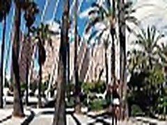 TRAVEL SHOW ASS DRIVER - Valencia with Sasha Bikeyeva Part 3 Ciudad de las Artes y las Ciencias