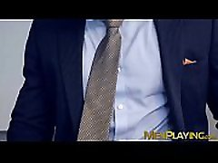 Sexy businessman scarlet red xxx hd by slick young partner