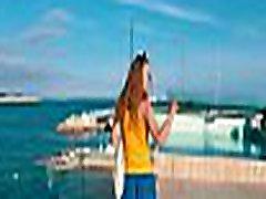 TRAVEL SHOW surprise lesbian DRIVER - Mallorca with Sasha Bikeyeva part 3. Ses Illetes & Sant Agusti