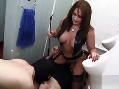 YouPorn - mistress-carly-fucks-in-dirty-toilet-and-makes-pathetic-slave-lick-creampie