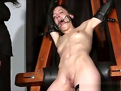 YouPorn - enslaved-painslut-elise-graves-whipping-in-hard-bdsm-punishment-session-of-tit-torments-and-extreme-bondage-in-the-dungeon