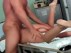 Naughty Nurse Gets Caught Masturbating And Gets Rammed In Ass