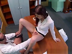 Euro babe banged and creampied by drs cock