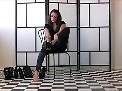 Sexy Girls In sarah y0ung Heels 50