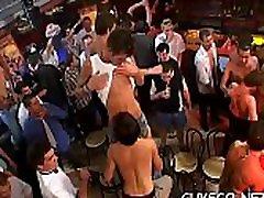 Outstanding sloppy rim chair gay4 blowjobs