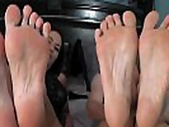 Cougars Rachel Storms & Diamond James Love Their Hosed Feet!