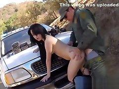 Cop pov blowjob and brutal police gang bang and guy fucks real cop and